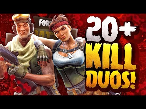 20+ KILL DUOS GAME! - FORTNITE BATTLE ROYALE