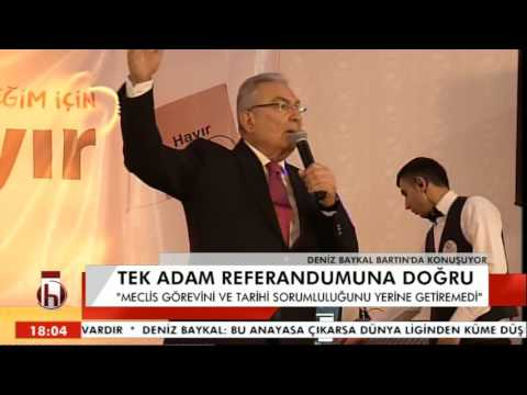 DENİZ BAYKAL BARTIN KONUŞMASI 1 BLM 20 03 2017