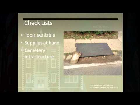 Disaster Preparedness and Response for Historic Cemeteries