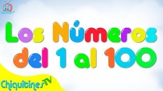 Los Números del 1 al 100 - Canción Infantil - Aprende los Números