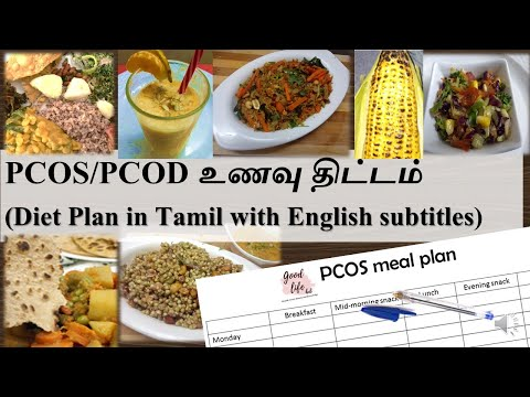 PCOS/PCOD Indian diet meal plan tips for weight loss