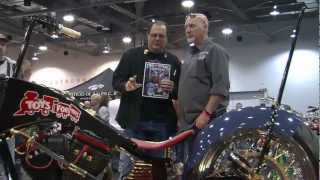 Usmc Toys For Tots Tribute Bike By Tim Banks Of Cycle Works Choppers Talks With Two Wheel Thunder Tv