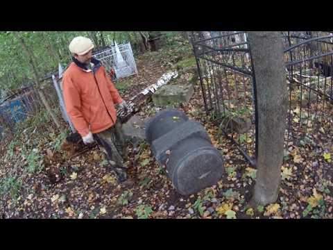 Алексин  Троицкое кладбище  Рассказывает Вячеслав Семенов