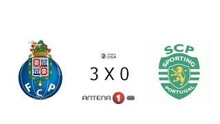 FC PORTO 3 X 0 SPORTING CP // LIGA NOS 2014/15 - RELATO ANTENA 1