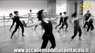 Danza Jazz - Lezione alla SFA con il maestro Don Marasigan (2)