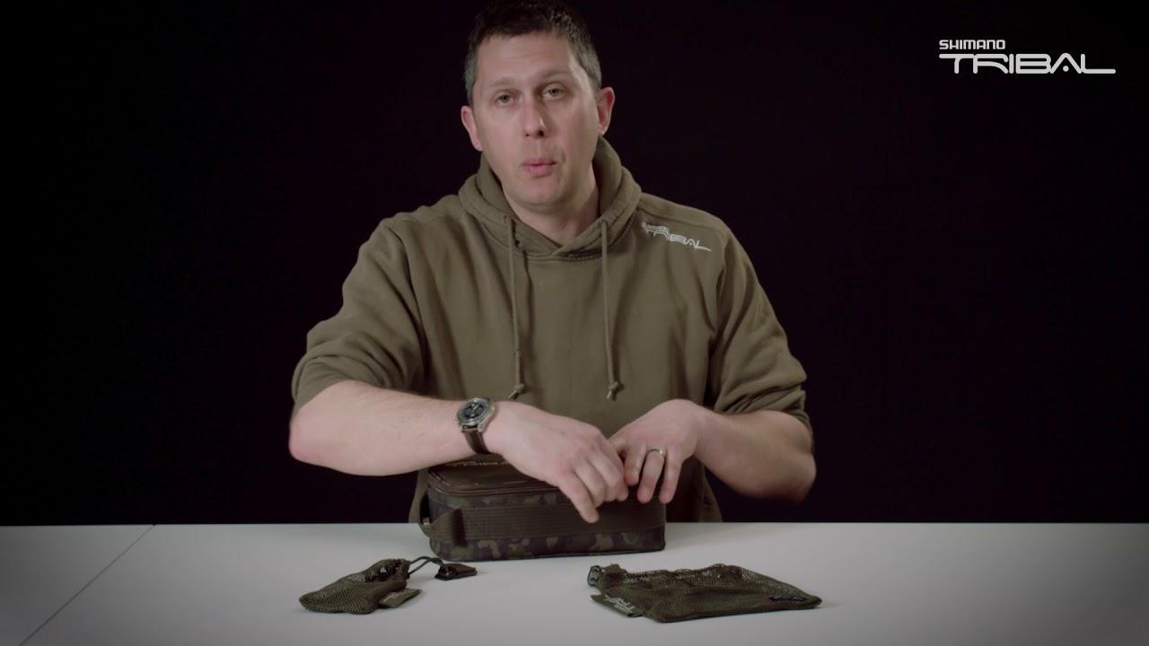 SHIMANO Tribal Sync Gear Magnetic Security Tasche SHTSC05 Anglerzubeh/ör Tasche 27x12,5x10cm