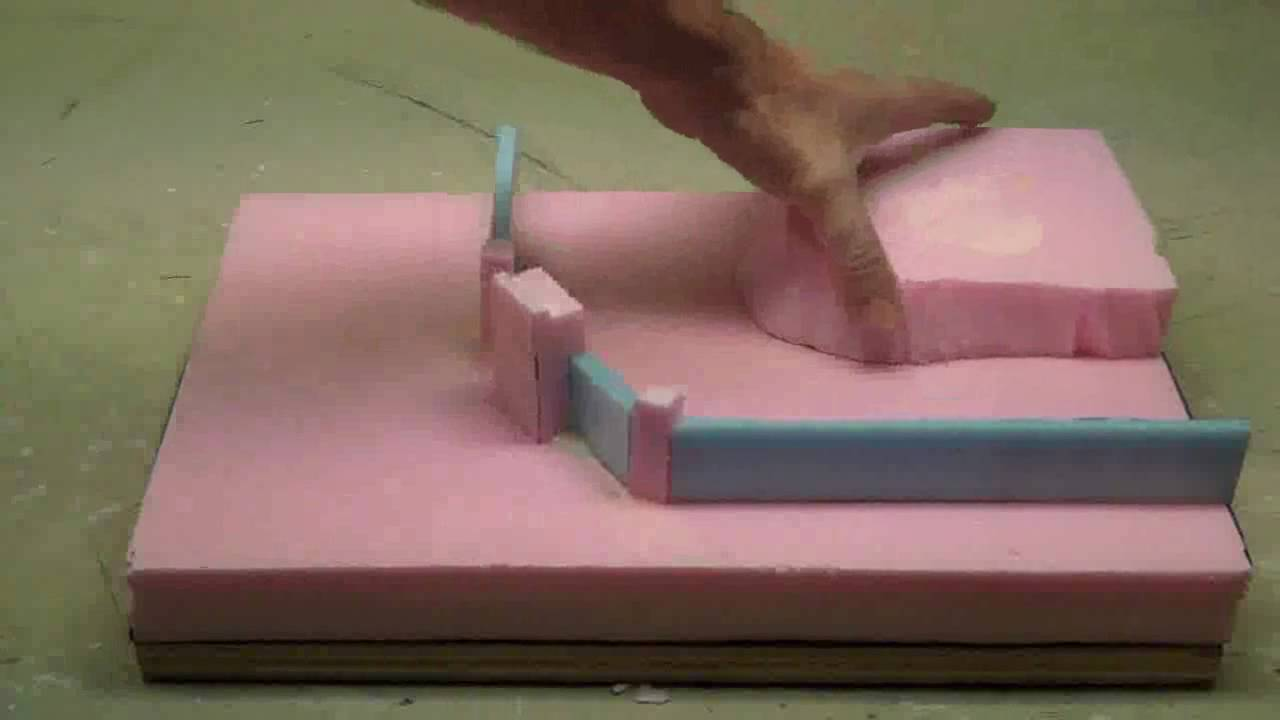 How To Use Foam To Make Wargaming Terrain Or Diorama