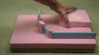 How to use foam to make wargaming terrain or diorama terrain