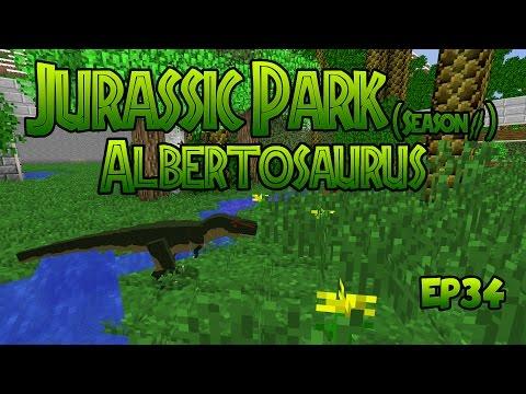 Jurassic Park Season 2 EP34! Albertosaurus! (Minecraft Dinosaurs)