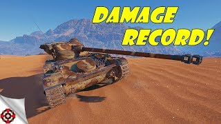World of Tanks - AMX 13 105 DAMAGE RECORD! (WoT AMX 13 105 gameplay)