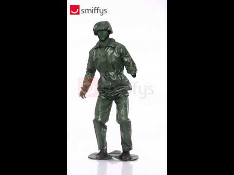 23681 Adult Toy Soldier Costume Toy Story Soldier Fancy Dress
