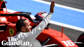 Hamilton 'had it under control' as he clinches record-extending 86th career pole at French Grand Pri