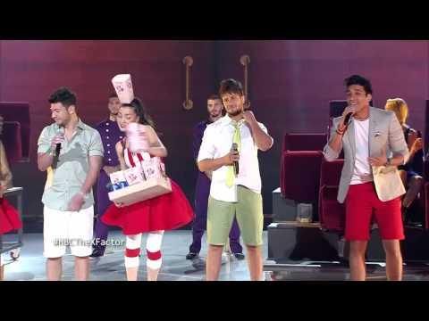 MBC The X Factor -The Five  -وحدة وحدة- العروض المباشرة