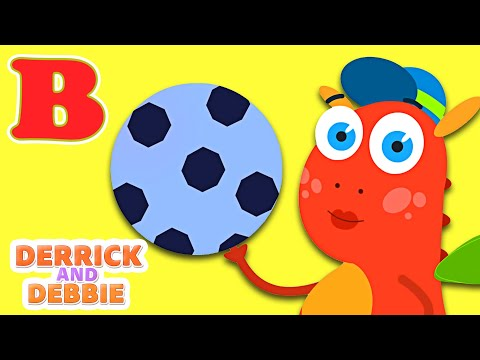 Thumbnail: The Phonics Song - ABC Songs for Children | Nursery Rhymes for Children by Derrick and Debbie