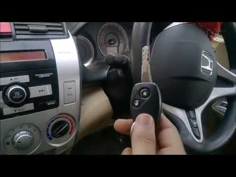 NANO TOWING HONDA CITY SURVIVAL TASK - GREEN KEY sign . HONDA CITY IMMOBILIZER PROBLEM .:)