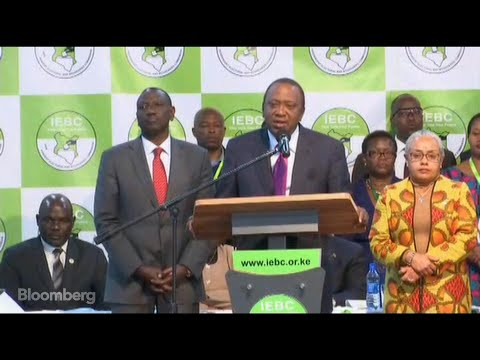 Kenyan President Wins Second Term as Vote Disputed