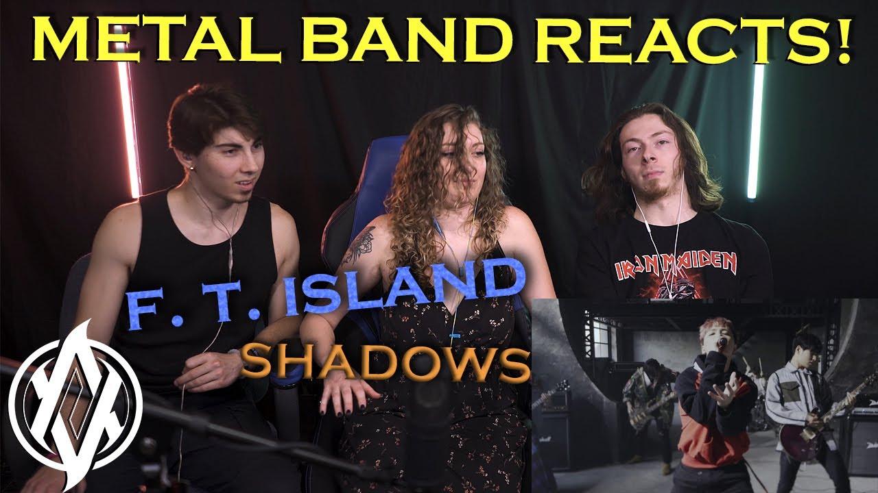 Metal Band Reacts! | F. T. Island - Shadows