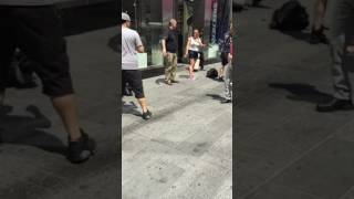 Times Square car rampage aftermath