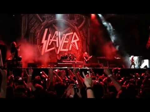 World Painted in Blood  - Slayer - 20-09-2013 São Paulo