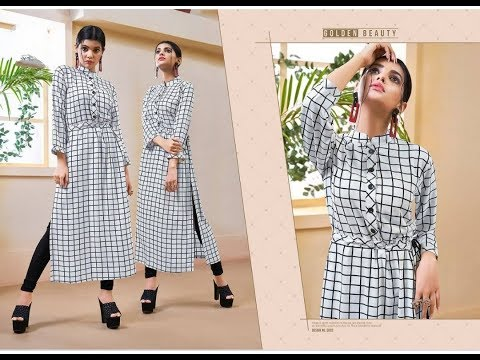 New and latest long check kurti designs /photos images