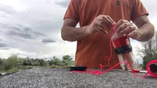 How to make a DIY bow fishing reel