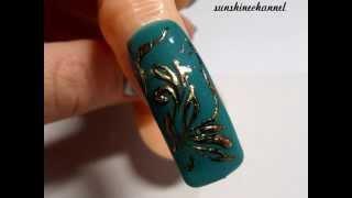 #Дизайн для натуральных/искусственных ногтей - #Гель-лак #Литье