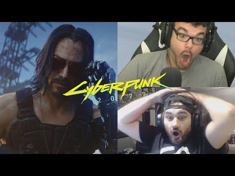Cyberpunk 2077 – Keanu Reeves Reactions  😎😎😱