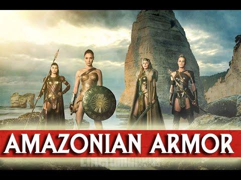 Wonder Woman Movie Costumes: Hippolyta, Antiope, Steve Trevor Plus Lynda Carter