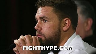 BILLY JOE SAUNDERS RESPONDS TO FAILED VADA TEST; CLAIMS
