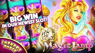 NEW Slot Machine: Magic Lamp!