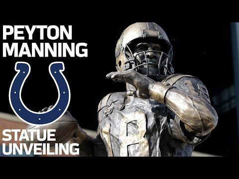 Peyton Manning: 'I Will Always Be A Colt'   Peyton Manning State Ceremony   NFL Legend