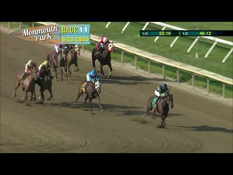 video thumbnail for MONMOUTH PARK 08-22-20 RACE 11