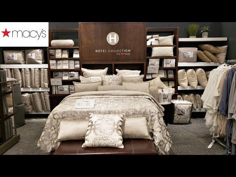 MACY'S BEDDING * SHOP WITH ME MARTHA STEWART HOTEL COLLECTION HOME IDEAS 2019