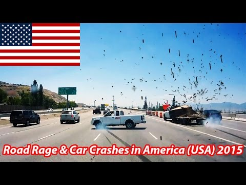 Road Rage and Car Crashes in America (USA) 2015 HD [Part 14]