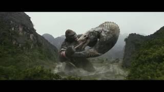 Конг: Остров Черепа (2017) - Сцена Конг против Черепозавра (9/10)   КИНОМиг
