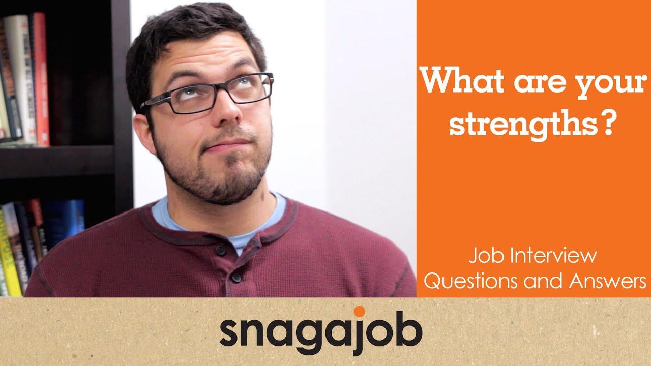 strengths for a job interview