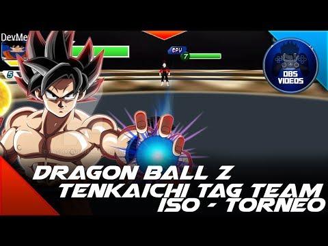 (DESCARGAR) DRAGON BALL Z TENKAICHI TAG TEAM - MODS ISO V21  - MAPA TORNEO - DBS VIDEOS