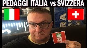 PEDAGGI ITALIA vs BOLLINO AUTOSTRADE SVIZZERA