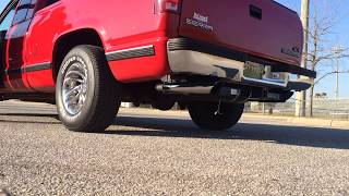 "Chevy GMC 1500 Truck 88-95 2.5/"" Dual Exhaust Kits Flowmaster Super 10 Black Tip"