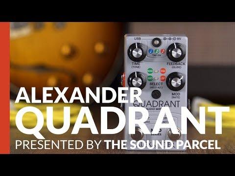 Alexander Pedals // Quadrant Audio Mirror