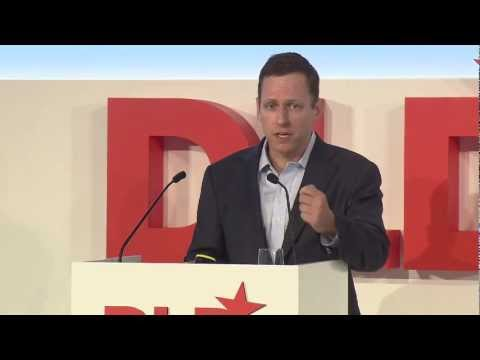 Highlights - Developing the Developed World (Peter Thiel, The Founders Fund) | DLD13