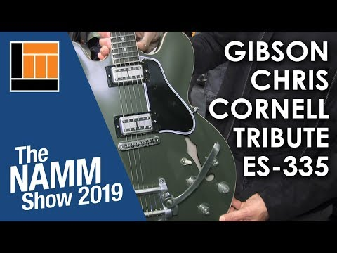 L&M @ NAMM 2019: Gibson Chris Cornell ES-335 Tribute Guitar Mp3
