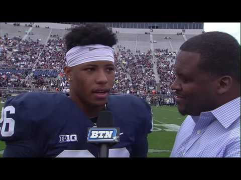 Saquon Barkley Interview - Penn State Spring Football