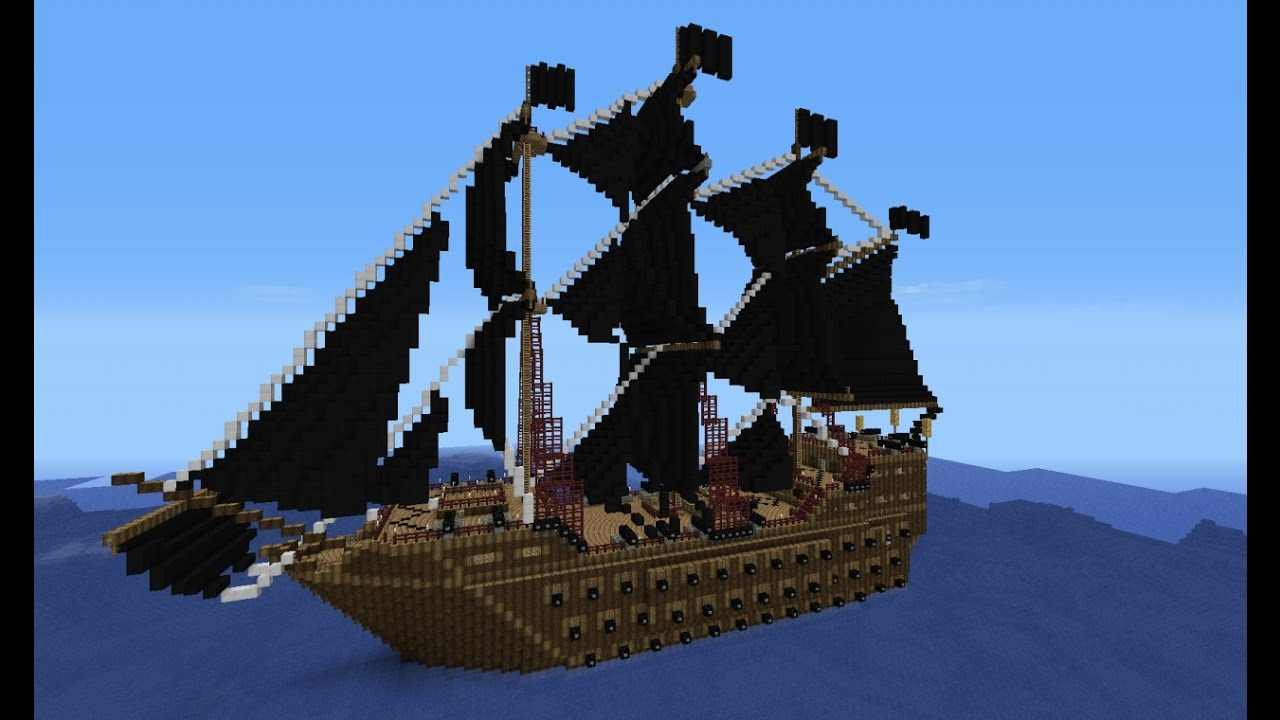 pirate ship minecraft # 0