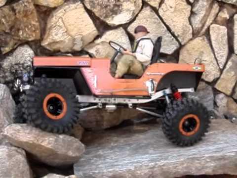 Wrangler Rock 47 >> RC Jeep Willys Crawler-1/6 scale-Novak-RC4WD - YouTube
