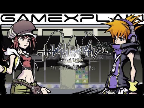 The World Ends with You: Final Remix - DIRECT FEED Gameplay (Switch - PAX West 2018)