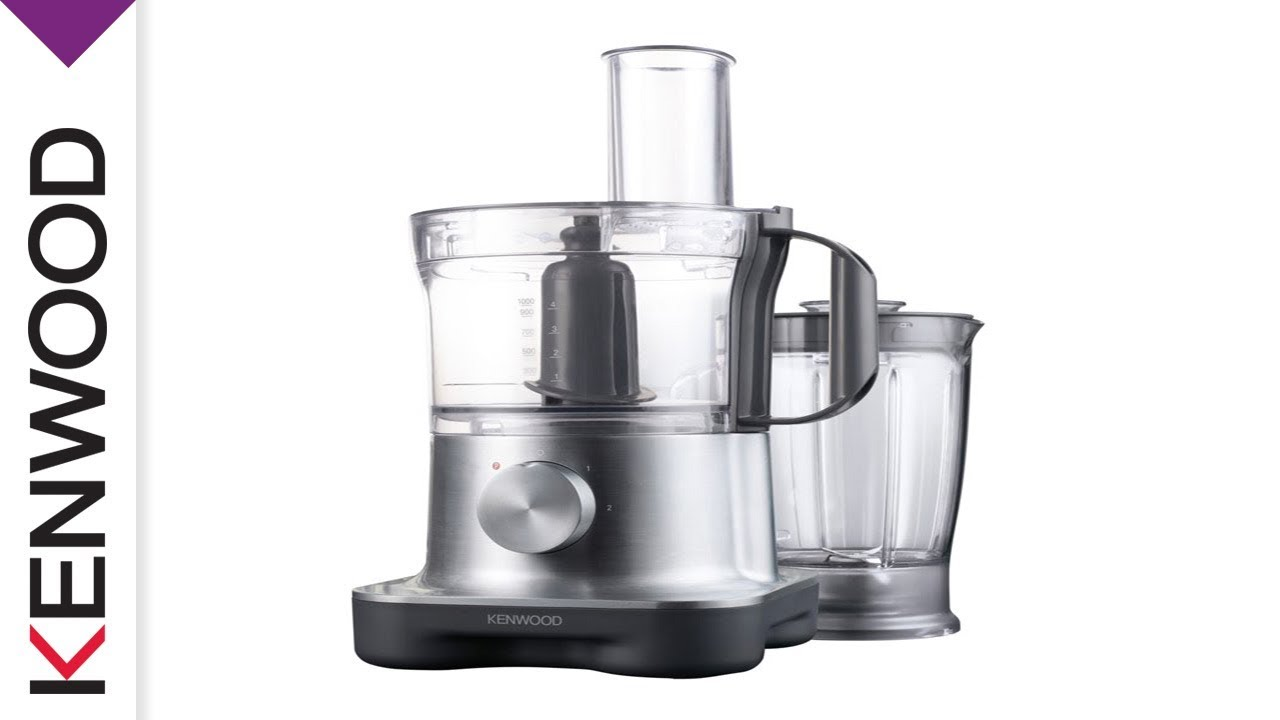 Kenwood Multipro Fpm250 Compact Food Processor Introduction