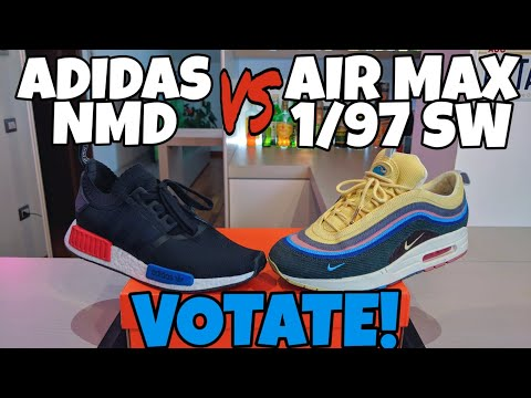 NIKE AIR MAX 1/97 SEAN WOTHERSPOON vs ADIDAS NMD VOTATE !!! Champions Kicks Sneakers Bar 2019