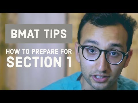 BMAT Section 1 - Everything you need to know | BMAT Tips series