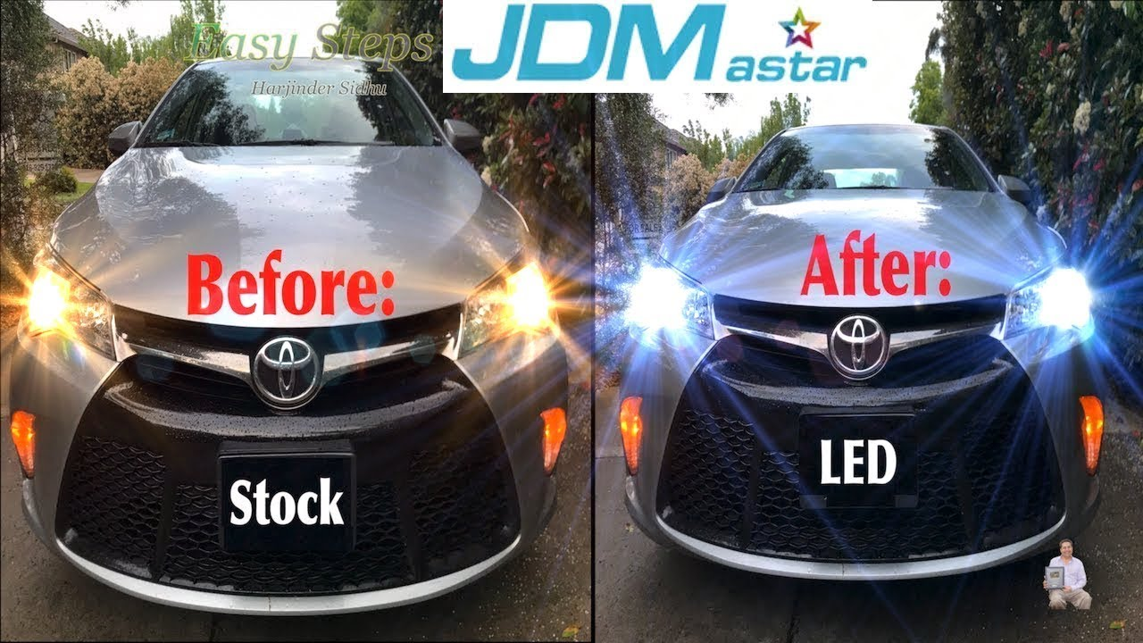 How To Upgrade Toyota Camry Headlights To Led Headlight